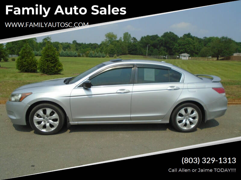 2008 Honda Accord for sale at Family Auto Sales in Rock Hill SC