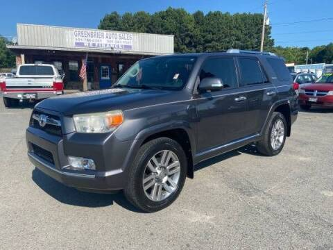 2012 Toyota 4Runner for sale at Greenbrier Auto Sales in Greenbrier AR