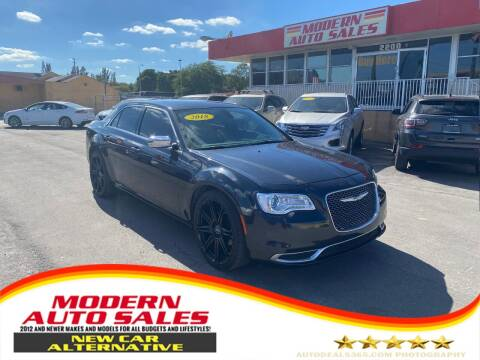 2018 Chrysler 300 for sale at Modern Auto Sales in Hollywood FL