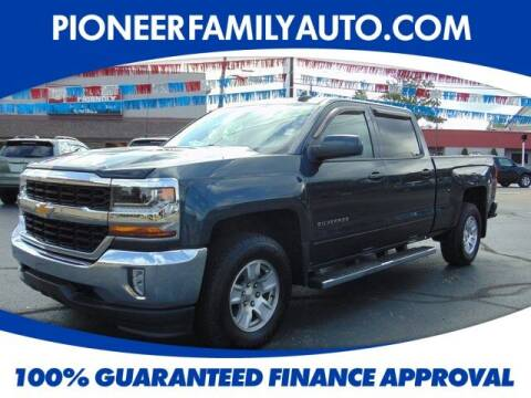 2017 Chevrolet Silverado 1500 for sale at Pioneer Family auto in Marietta OH