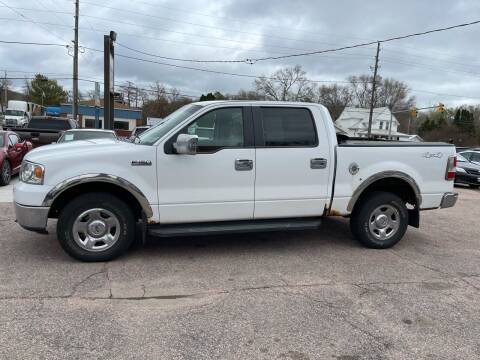 2007 Ford F-150 for sale at RIVERSIDE AUTO SALES in Sioux City IA