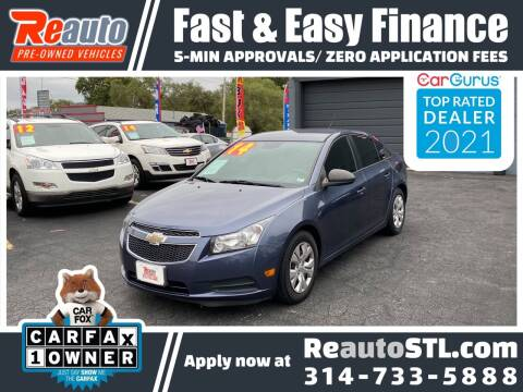 2014 Chevrolet Cruze for sale at Reauto in Saint Louis MO