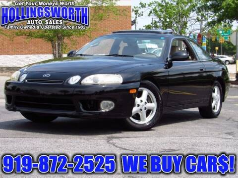 1998 Lexus SC 400 for sale at Hollingsworth Auto Sales in Raleigh NC