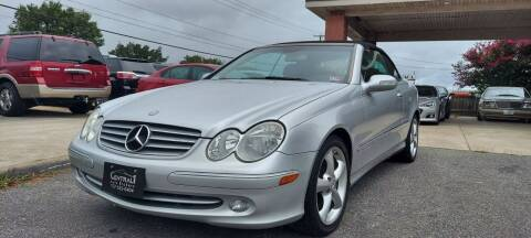 2005 Mercedes-Benz CLK for sale at Central 1 Auto Brokers in Virginia Beach VA