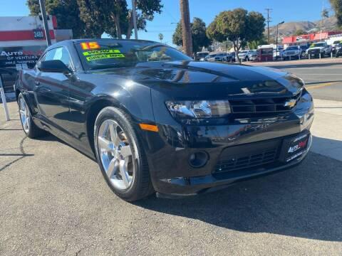 2015 Chevrolet Camaro for sale at Auto Max of Ventura in Ventura CA