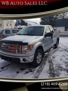 2011 Ford F-150 for sale at WB Auto Sales LLC in Barnum MN