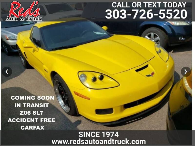 2007 Chevrolet Corvette for sale at Red's Auto and Truck in Longmont CO