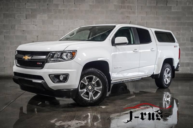 2018 Chevrolet Colorado for sale at J-Rus Inc. in Macomb MI