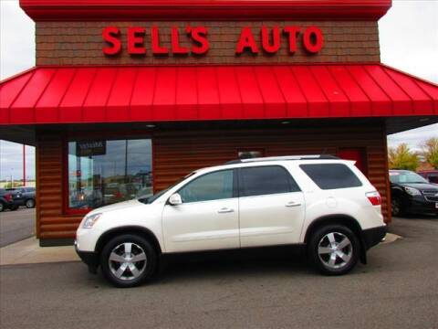 2011 GMC Acadia for sale at Sells Auto INC in Saint Cloud MN