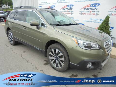 2016 Subaru Outback for sale at PATRIOT CHRYSLER DODGE JEEP RAM in Oakland MD