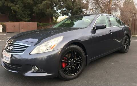 2013 Infiniti G37 Sedan for sale at OPTED MOTORS in Santa Clara CA
