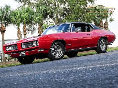1968 Pontiac GTO for sale at SURVIVOR CLASSIC CAR SERVICES in Palmetto FL