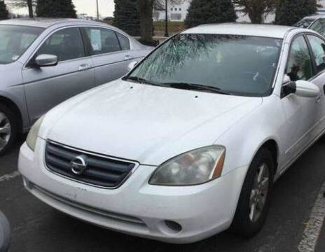 2002 Nissan Altima for sale at D & J AUTO EXCHANGE in Columbus IN