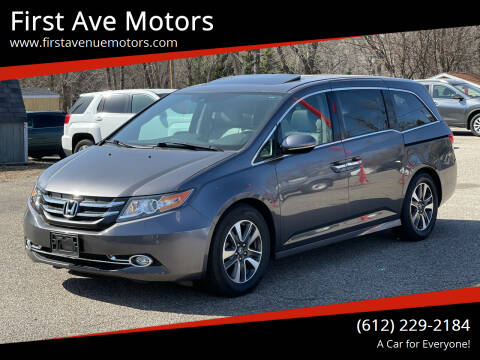 2016 Honda Odyssey for sale at First Ave Motors in Shakopee MN