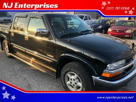 2002 Chevrolet S-10 for sale at NJ Enterprises in Indianapolis IN