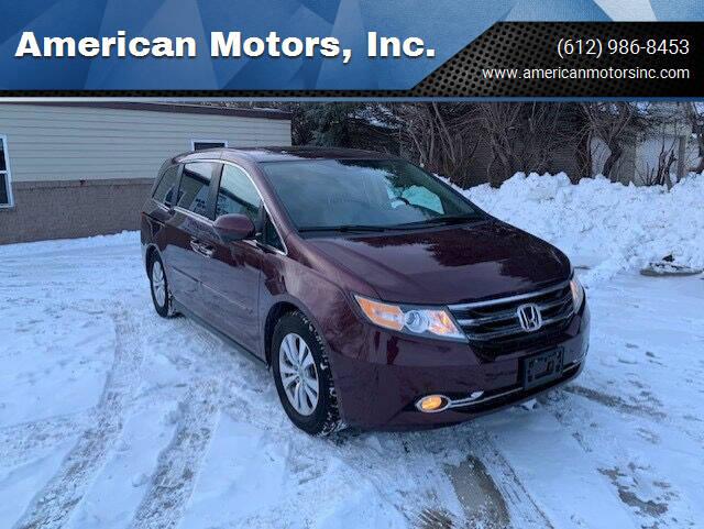 2015 Honda Odyssey for sale at American Motors, Inc. in Farmington MN