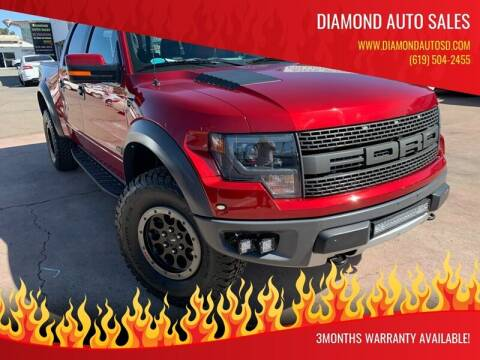 2014 Ford F-150 for sale at DIAMOND AUTO SALES in El Cajon CA