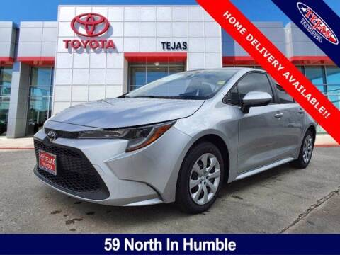 2021 Toyota Corolla for sale at TEJAS TOYOTA in Humble TX