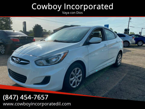 2014 Hyundai Accent for sale at Cowboy Incorporated in Waukegan IL