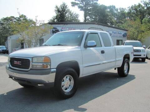 2001 GMC Sierra 1500 for sale at Pure 1 Auto in New Bern NC