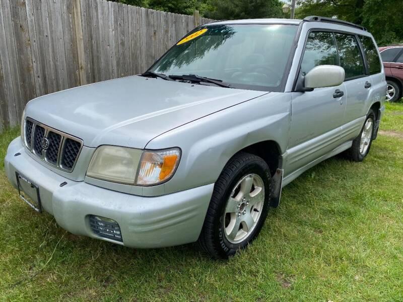 2002 Subaru Forester for sale at ALL Motor Cars LTD in Tillson NY