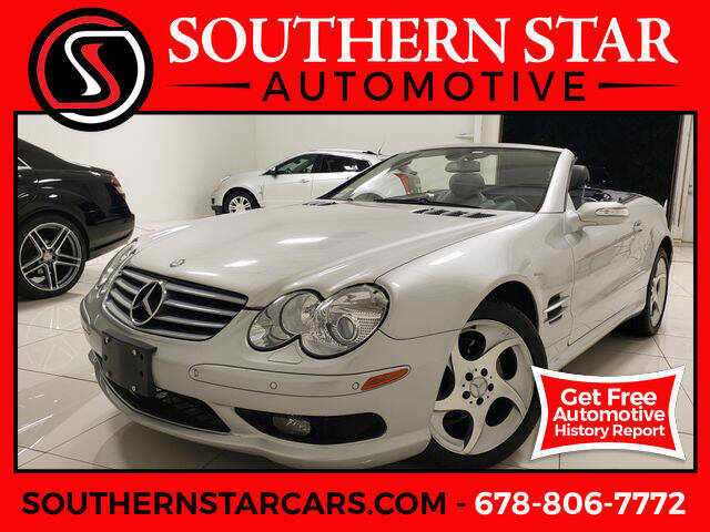 2005 Mercedes-Benz SL-Class for sale at Southern Star Automotive, Inc. in Duluth GA