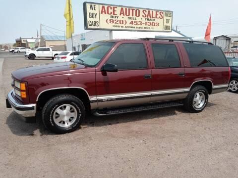 1998 GMC Suburban for sale at ACE AUTO SALES in Lake Havasu City AZ