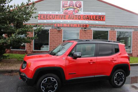 2016 Jeep Renegade for sale at EXECUTIVE AUTO GALLERY INC in Walnutport PA