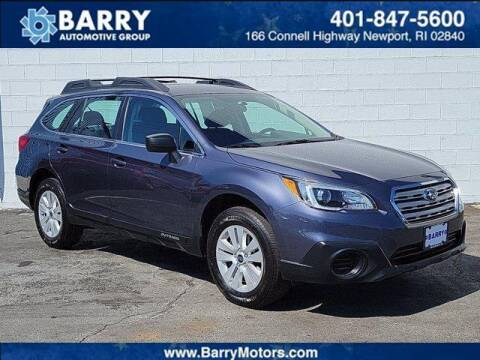 2017 Subaru Outback for sale at BARRYS Auto Group Inc in Newport RI
