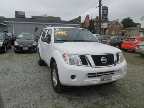 2012 Nissan Pathfinder for sale at Omega Auto & Truck Center, Inc. in Salem MA