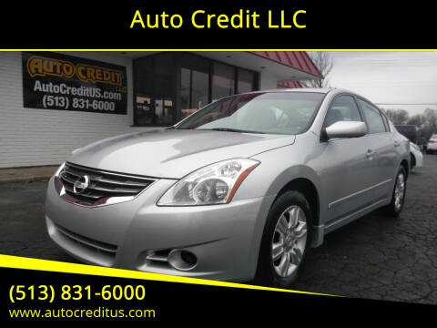 2010 Nissan Altima for sale at Auto Credit LLC in Milford OH