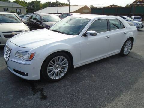 2014 Chrysler 300 for sale at River City Auto Sales in Cottage Hills IL