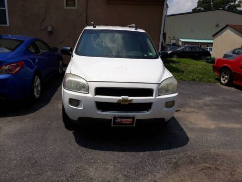 2005 Chevrolet Uplander for sale at GALANTE AUTO SALES LLC in Aston PA