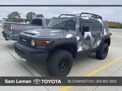 2008 Toyota FJ Cruiser for sale at Sam Leman Toyota Bloomington in Bloomington IL