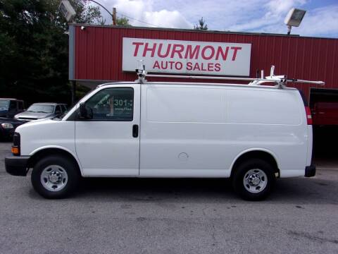 2013 Chevrolet Express Cargo for sale at THURMONT AUTO SALES in Thurmont MD