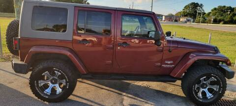 2009 Jeep Wrangler Unlimited for sale at Kelly & Kelly Supermarket of Cars in Fayetteville NC