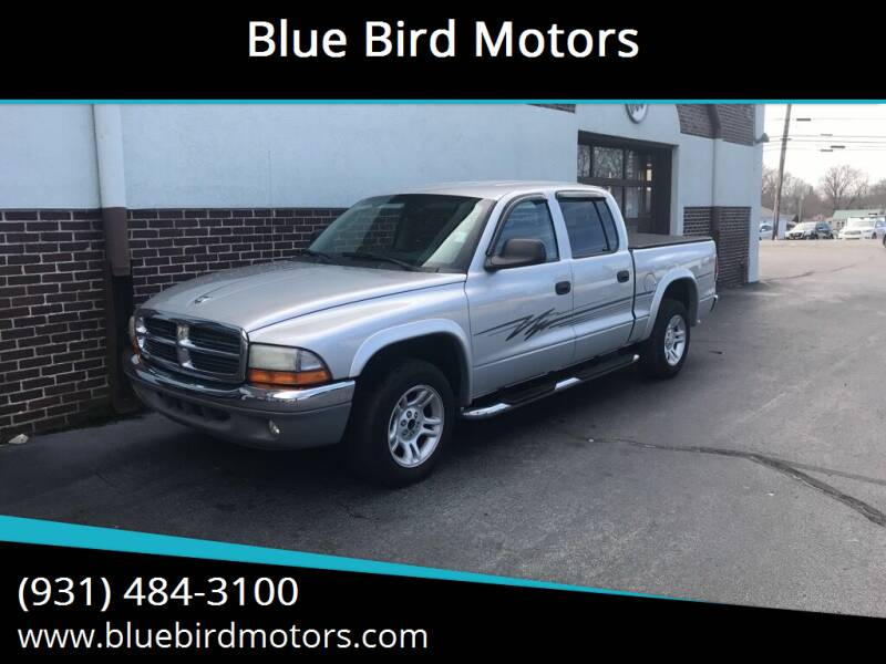 2004 Dodge Dakota for sale at Blue Bird Motors in Crossville TN