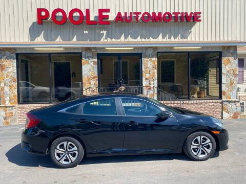 2018 Honda Civic for sale at Poole Automotive in Laurinburg NC
