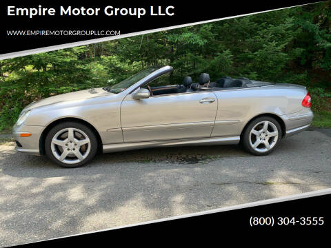 2005 Mercedes-Benz CLK for sale at Empire Motor Group LLC in Plaistow NH