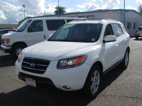 2007 Hyundai Santa Fe for sale at Primo Auto Sales in Merced CA