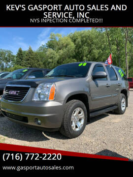 2008 GMC Yukon for sale at KEV'S GASPORT AUTO SALES AND SERVICE, INC in Gasport NY