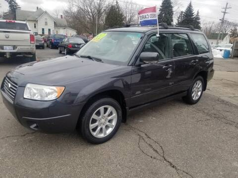 2008 Subaru Forester for sale at DALE'S AUTO INC in Mt Clemens MI