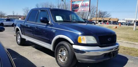 2002 Ford F-150 for sale at Albi Auto Sales LLC in Louisville KY