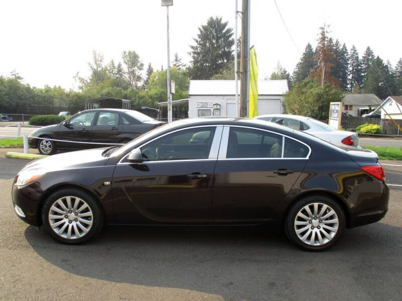2011 Buick Regal for sale at Yellow Line Motors in Lafayette OR