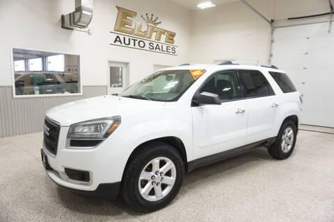 2016 GMC Acadia for sale at Elite Auto Sales in Ammon ID