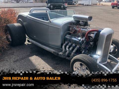 1932 Ford 32 for sale at JRS REPAIR & AUTO SALES in Richfield UT
