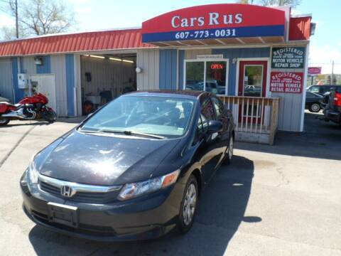2012 Honda Civic for sale at Cars R Us in Binghamton NY