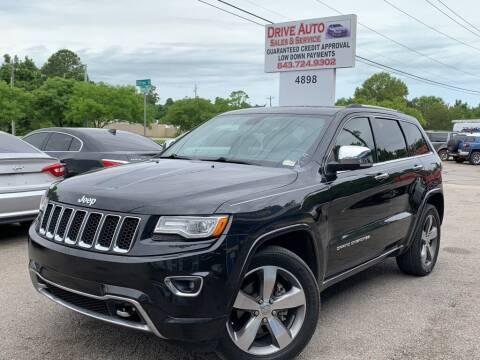 2014 Jeep Grand Cherokee for sale at Drive Auto Sales & Service, LLC. in North Charleston SC