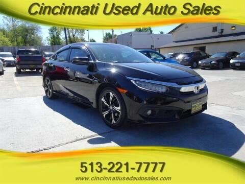 2017 Honda Civic for sale at Cincinnati Used Auto Sales in Cincinnati OH
