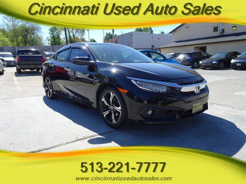 2017 Honda Civic for sale at Cincinnati Used Auto Sales in Cincinnati OH